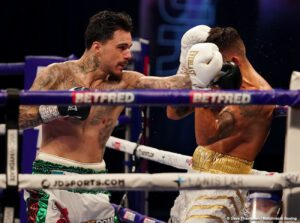 Savannah Marshall - LEE SELBY v GEORGE KAMBOSOS JR SD12 (118-110 Kambosos Jr, 115-114 Selby, 116-112 Kambosos Jr)