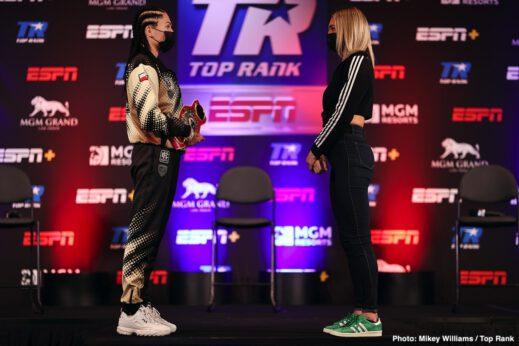 Ewa Brodnicka, Jared Anderson, Jason Moloney, Mikaela Mayer, Naoya Inoue, Robson Conceição - Boxing News