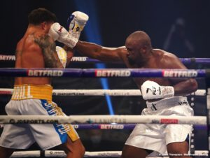 Alexander Usyk - Dereck Chisora says he's not retiring from boxing after losing a disappointing 12 round unanimous decision to former undisputed cruiserweight champion Oleksandr Usyk last Saturday night at the Wembley Arena in Wembley, England.