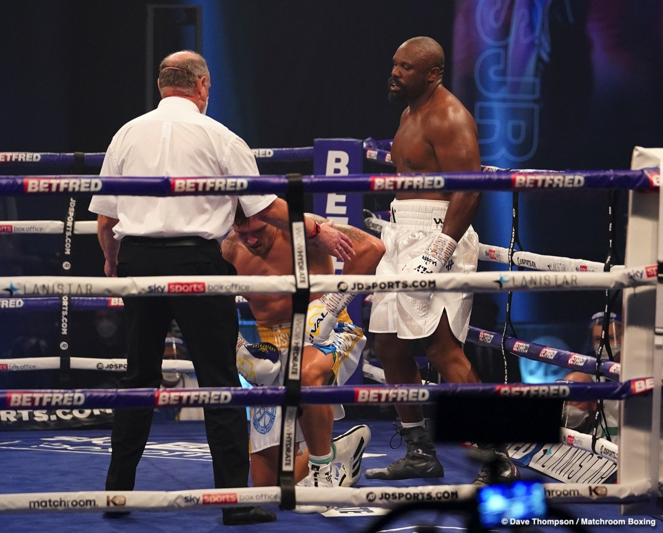 Alexander Usyk, Derek Chisora - Dereck Chisora says he's not retiring from boxing after losing a disappointing 12 round unanimous decision to former undisputed cruiserweight champion Oleksandr Usyk last Saturday night at the Wembley Arena in Wembley, England.