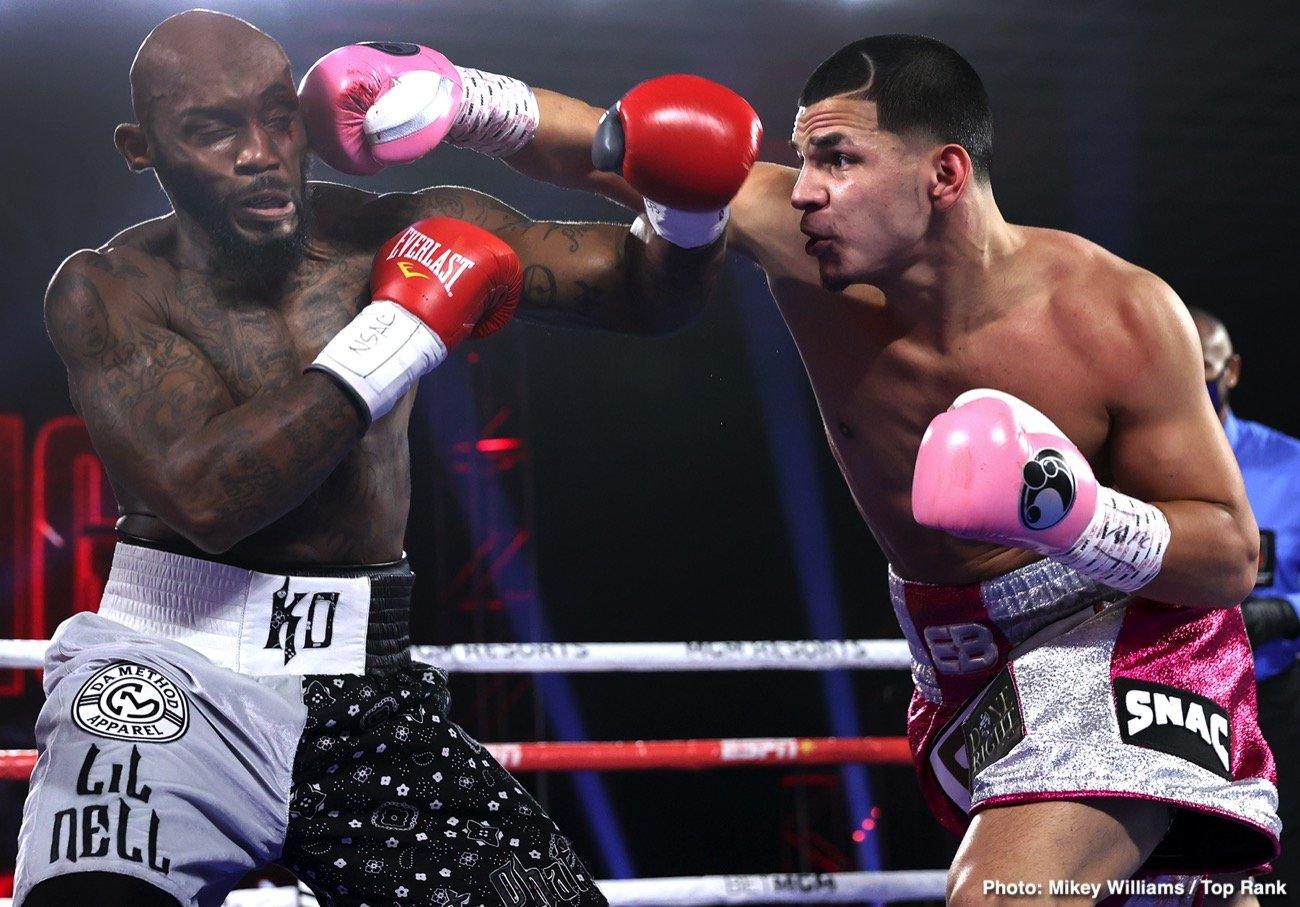 Demond Nicholson, Edgar Berlanga - Boxing News