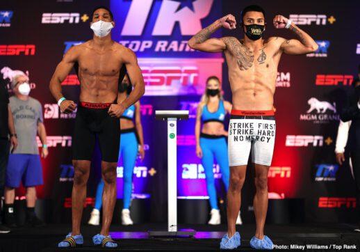 Emanuel Navarrete, Ruben Villa - Boxing News