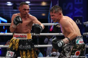 Julio Cesar Martinez - Juan Francisco Estrada (41-3, 28 KOs) dispatched Carlos Cuadras 39-4-1, 27 KOs) in the 11th round on Friday evening in a fight that will be remembered for a long time by fans.