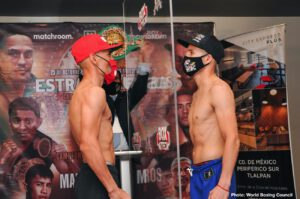 Carlos Cuadras, Juan Francisco Estrada, Roman Gonzalez, Sergey Lipinets - The most interesting fight of the weekend for this boxing addict is the rematch between Juan Francisco Estrada and Carlos Cuadras this Friday night on DAZN. Of course the return of many hardcore fans idol Roman Gonzalez is always something to look forward to. On Saturday Showtime returns with a Tripleheader that may seem hoe-hum with a replacement opponent in the main event but don't sleep on Custio Clayton. Also, two prospects in Xavier Martinez and Malik Hawkins will be in good tests on the undercard. Of course we know it's not as anticipated as last Saturday's Lomanchenko/Lopez but all and all this will give us fan's something to chew on.