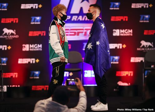 Ewa Brodnicka, Jared Anderson, Jason Moloney, Mikaela Mayer, Naoya Inoue, Robson Conceição - Inoue vs Moloney and Ewa Brodnicka-Mikaela Mayer world title doubleheader to stream LIVE Saturday on ESPN+ starting at 7:30 p.m. ET/4:30 p.m. PT
