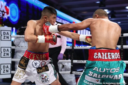 Carlos Cuadras, Israel Gonzalez, Juan Francisco Estrada, Julio Cesar Martinez, Moises Calleros, Roman Gonzalez - Juan Francisco Estrada (41-3, 28 KOs) dispatched Carlos Cuadras 39-4-1, 27 KOs) in the 11th round on Friday evening in a fight that will be remembered for a long time by fans.