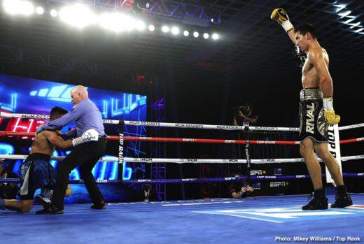 Elvis Rodriguez, Emanuel Navarrete, Janibek Alimkhanuly, Ruben Villa - Boxing News