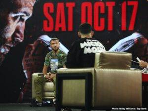 Vasiliy Lomachenko - Just as nobody can wait any longer to see the action unfold in Las Vegas this Saturday night as rival 135 pounders Vasyl Lomachenko and Teofimo Lopez clash in the fight of the year, everybody has a view on what will happen during the fight. Who wins? In the traditional poll the folks at RingTV.com upload ahead of a big fight, almost every expert made it clear they feel Lomachenko will get the win; almost all of these experts predicting a points win for Loma.