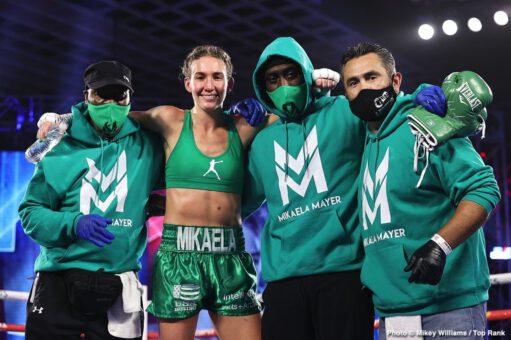 Ewa Brodnicka, Jason Moloney, Julian Rodriguez, Mikaela Mayer, Naoya Inoue, Robson Conceição - Boxing News