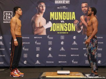 Jaime Munguia, Tureano Johnson - Boxing News