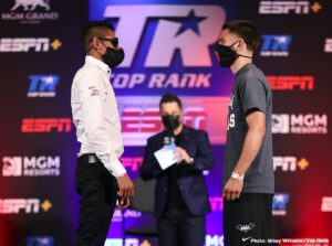 """Emanuel Navarrete - Emanuel """"Vaquero"""" Navarrete has won 27 consecutive bouts. Ruben Villa has never lost as a professional. Something will give Friday evening (ESPN, 10 p.m. ET), when the two battle for the vacant WBO featherweight world title, which became available after Shakur Stevenson moved up to the junior lightweight ranks."""