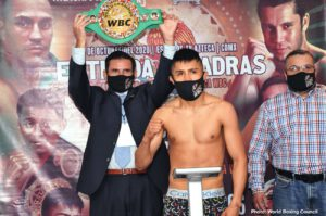 Julio Cesar Martinez - Julio Cesar Martinez has set his sights on unification battles in 2021 before moving to Super-Flyweight as the WBC World Flyweight king meets Moises Calleros tonight at TV Azteca Studios in Mexico City, Mexico, live on DAZN.