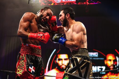 Claudio Marrero, Custio Clayton, Malik Hawkins, Sergey Lipinets, Subriel Matias, Xavier Martinez - Former world champion Sergey Lipinets and unbeaten Custio Clayton fought to a majority draw Saturday night in a welterweight clash headlining action live on SHOWTIME® from Mohegan Sun Arena in Uncasville, Conn. in an event presented by Premier Boxing Champions.