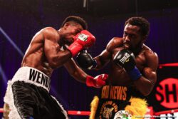 Charles Conwell, Wendy Toussaint - Undefeated 23-year-old super welterweight prospect Charles Conwell continued the impressive start to his career by scoring a ninth-round KO over tough challenger Wendy Toussaint in a special Wednesday night edition of ShoBox: The New Generation, the first since March, from Mohegan Sun Arena in Uncasville, Conn.