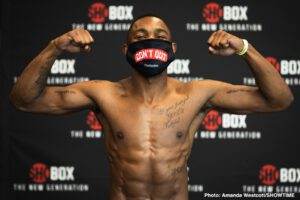 """Wendy Toussaint - LIVE tonight at 9 PM/ET, ShoBox: The New Generation returns for the first time since March featuring a jr. middleweight main event between #9 world-rated (IBF), CHARLES """"BAD NEWS"""" CONWELL (12-0 9KO's) and fellow undefeated jr. middleweight, WENDY """"THE HAITIAN FIRE"""" TOUSSAINT (12-0 5KO's) in a 10-round IBF USBA Jr. Middleweight Championship bout."""