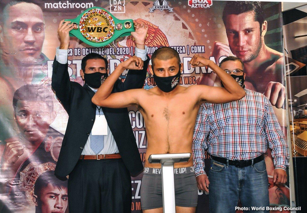 Carlos Cuadras, Diego Pacheco, Juan Antonio Mendez, Juan Francisco Estrada - Boxing News