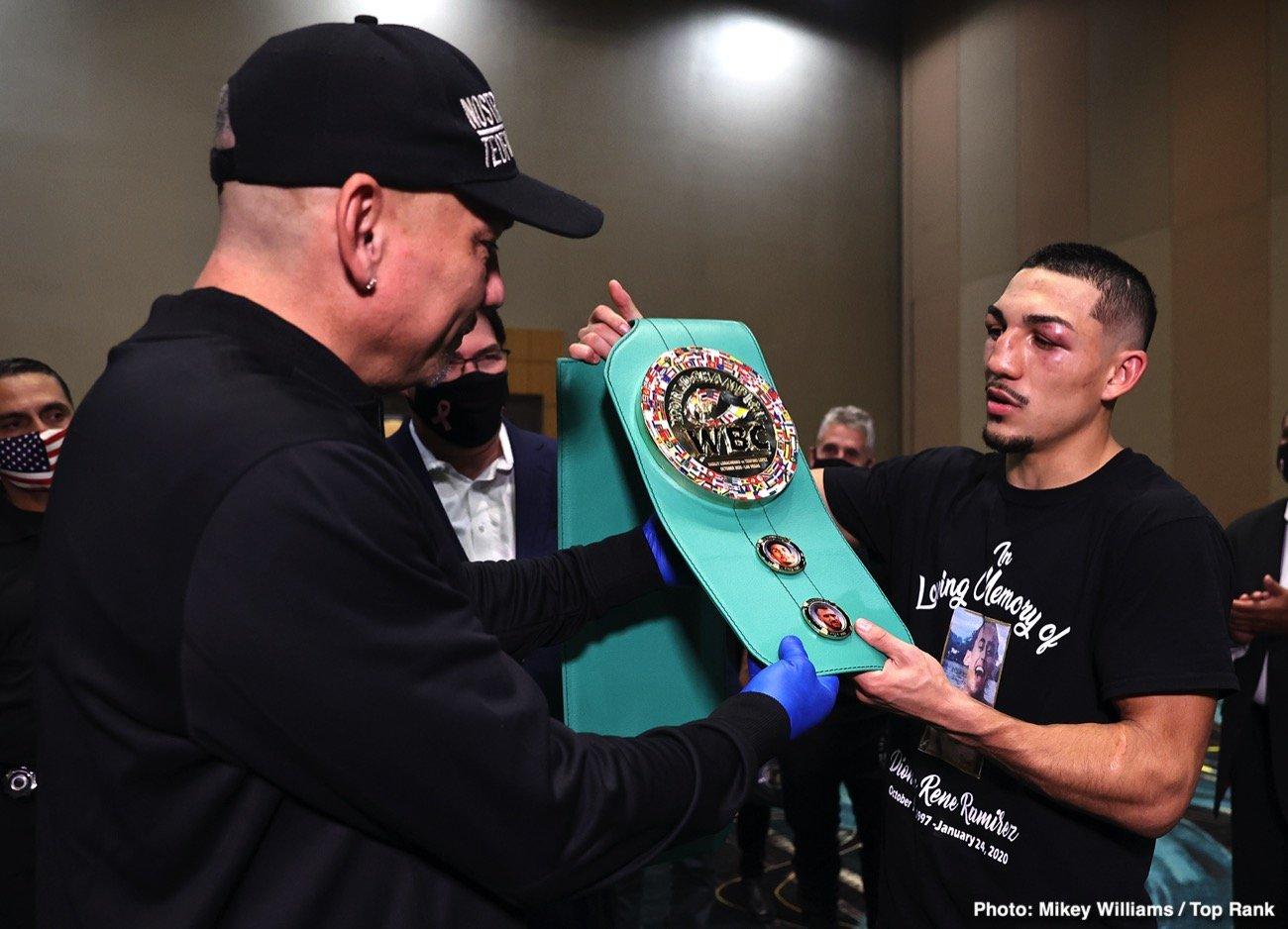 Bob Arum, Luke Campbell, Ryan Garcia, Teofimo Lopez - Boxing News