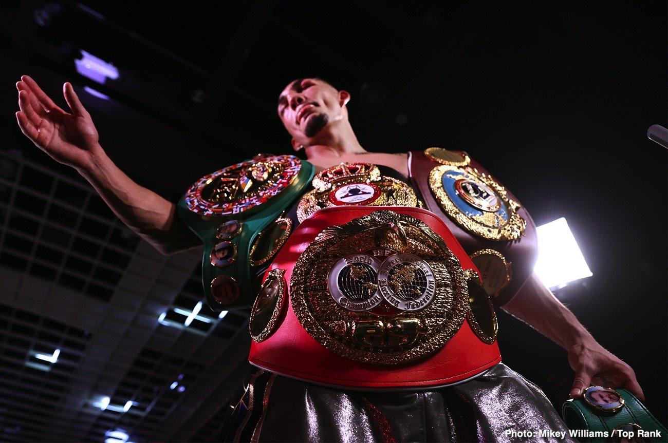 George Kambosos Jr., Teofimo Lopez, Teofimo Lopez Sr - Boxing News