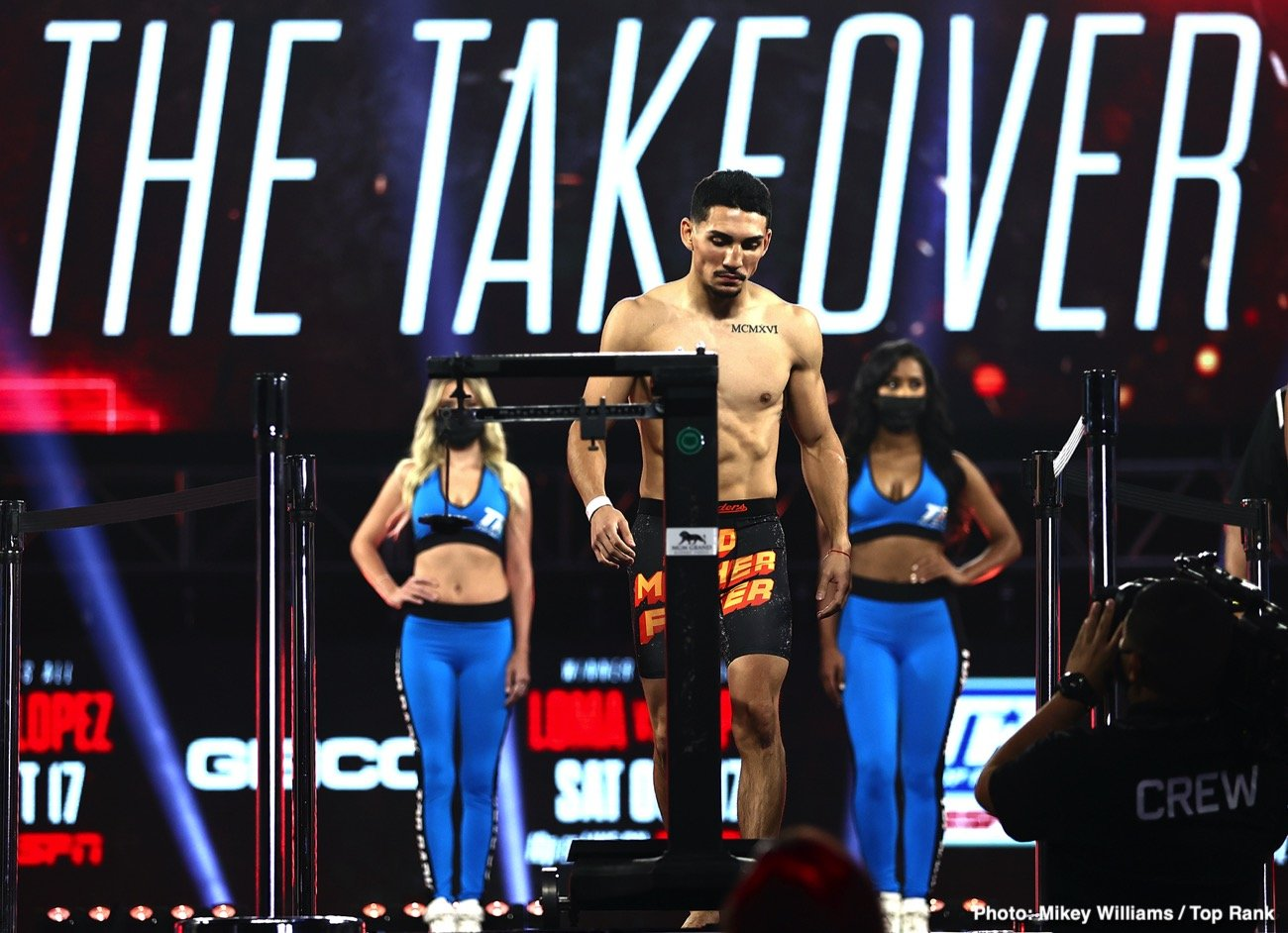 Teofimo Lopez, Vasiliy Lomachenko - Saturday night kicks off a stretch of fights scheduled for the Fall that should definitely make up for all the action fans have missed due to the coronavirus.