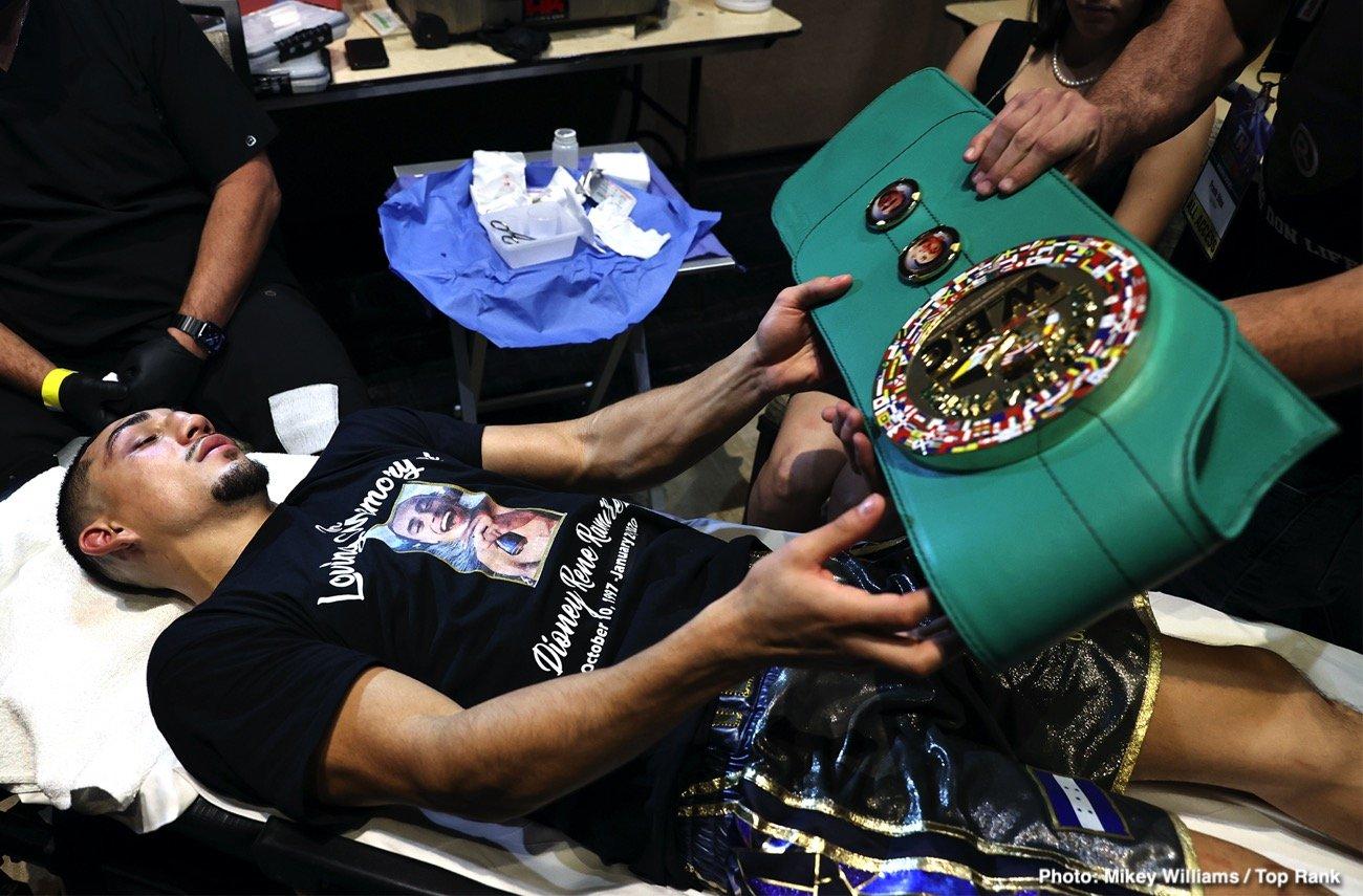 Bob Arum, Devin Haney, Teofimo Lopez, Vasiliy Lomachenko - Boxing News