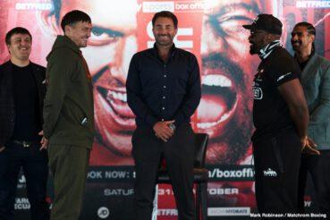 Alexander Usyk, Derek Chisora - Boxing News