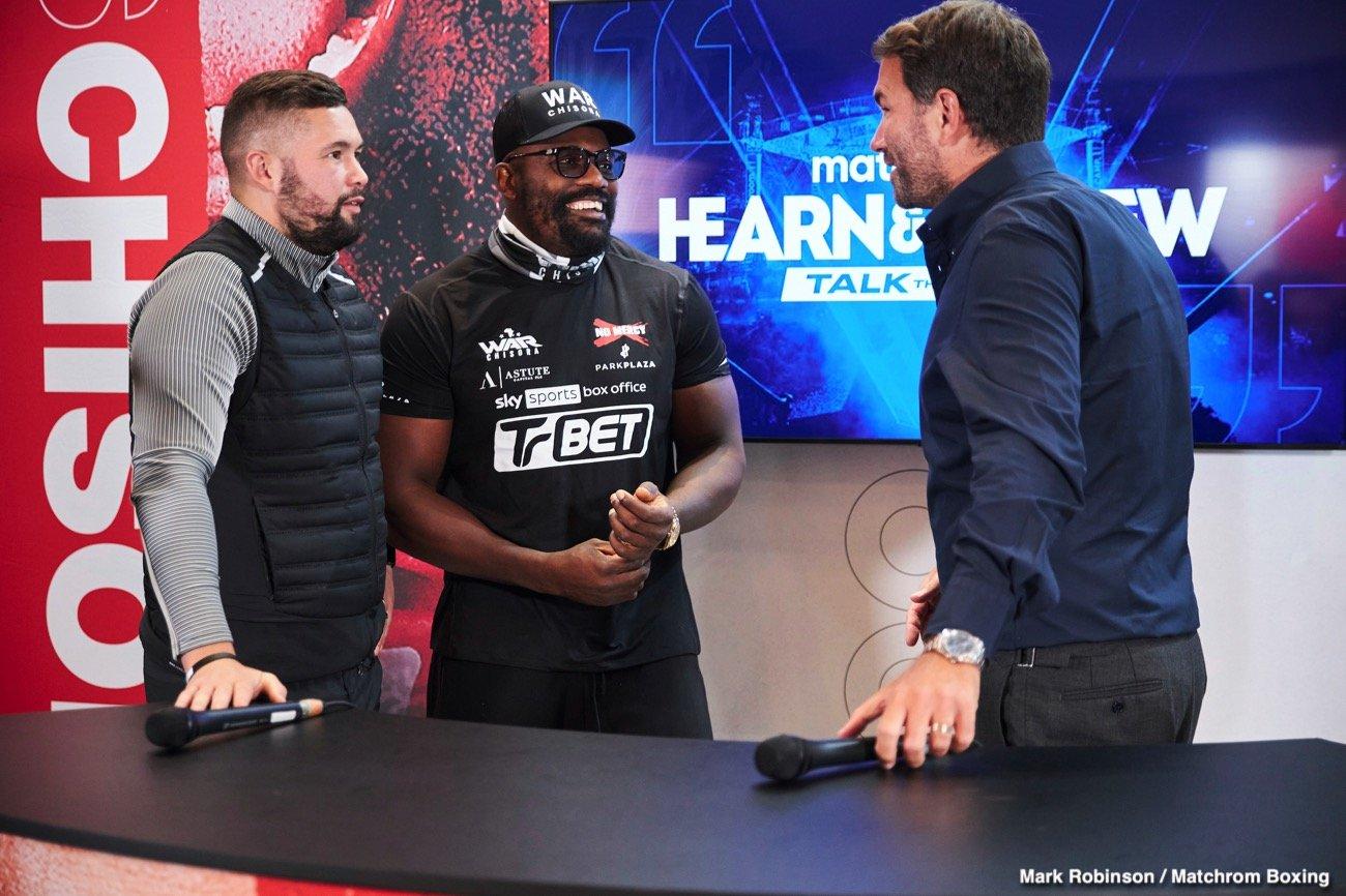 DAZN, Eddie Hearn, Sky Sports - Boxing News
