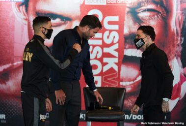 Alexander Usyk, Derek Chisora - Notes & quotes from the  Usyk vs.  Chisora press conference ahead of Saturday's action, live on  DAZN in all of its nine markets including the U.S. an Sky Sports Box Office in the UK.