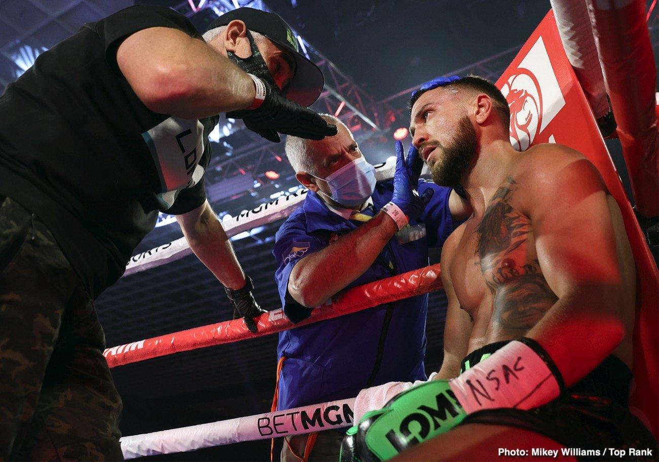 Devin Haney, Eddie Hearn, Jorge Linares, Vasiliy Lomachenko - Boxing News