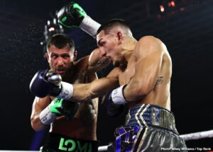 Vasiliy Lomachenko - While Vasyl Lomachenko has been lauded as the greatest fighter of this era by some in the media, we were once again reminded that unequivocal greatness requires an abundance of quality in both offense, and defense. Lomachenko, along with Manny Pacquiao and Roy Jones Jr. were so offensively gifted that they were able to mask the fact that their only defense was their speed and reflexes. Doesn't take away from their overall greatness. But it does give a glimpse into why they fell short in some of the biggest fights of their careers.