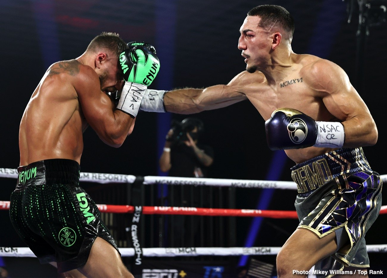"Roberto Duran, Teofimo Lopez, Vasiliy Lomachenko - There is no doubting the talents and the enormous promise of unified lightweight king Teofimo Lopez. At just 23 years of age, Lopez, 16-0(12), has already done plenty – his win over Vasyl Lomachenko, his career highlight so far – yet he says, ""We ain't seen nothin' yet."""