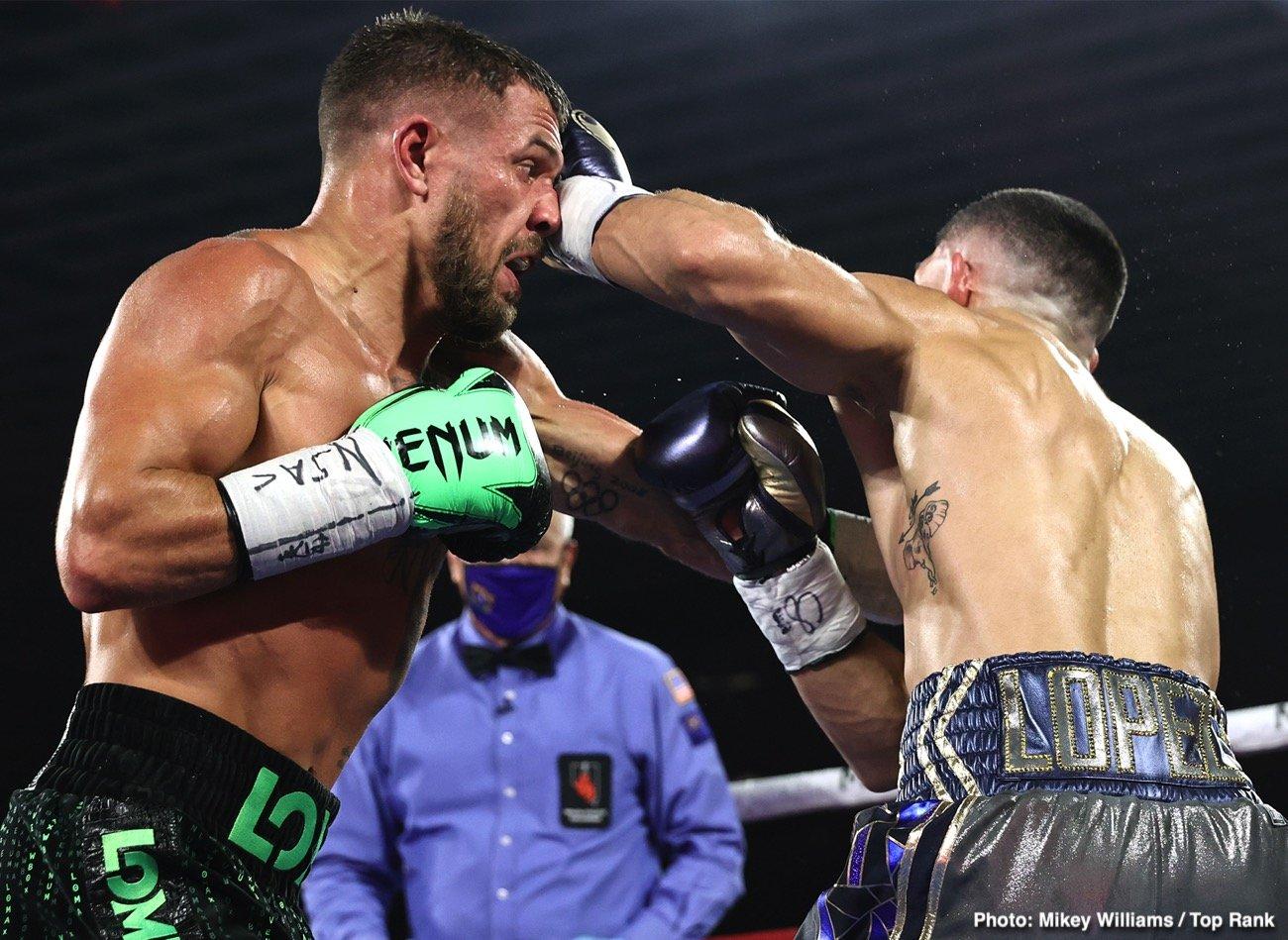 Bob Arum, Devin Haney, Vasiliy Lomachenko - Boxing News