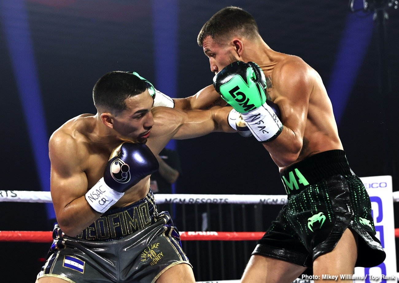 Teofimo Lopez, Vasiliy Lomachenko - Vasiliy Lomachenko fought Teofimo Lopez with an injured right-shoulder last Saturday night, and he had surgery on Monday in Los Angeles to have the problem repaired. Lomachenko will be able to resume training in late January.