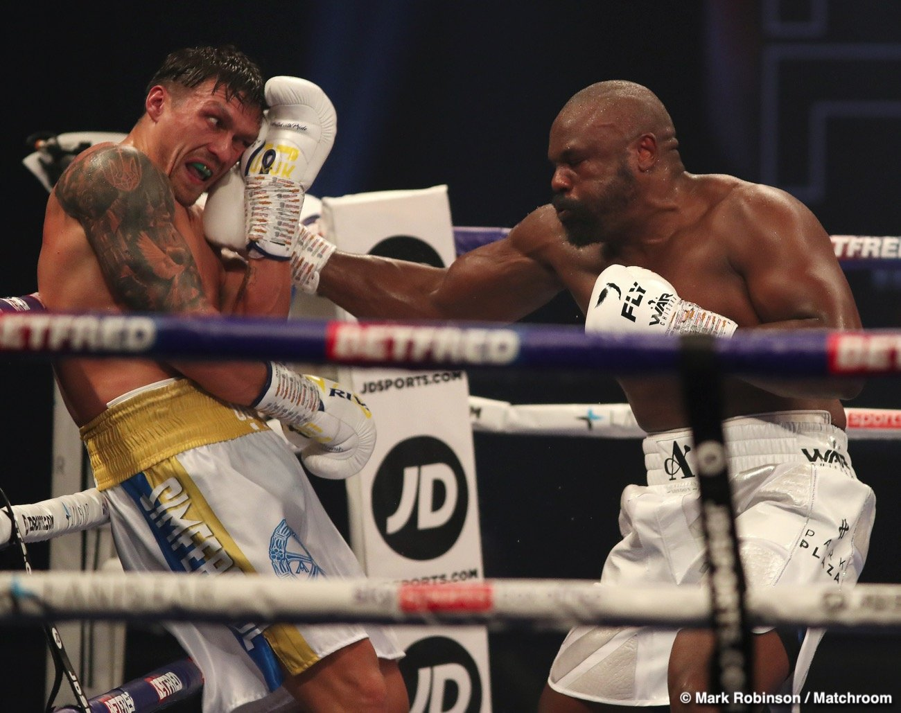 Alexander Usyk, Joe Joyce, Michael Hunter - Boxing News