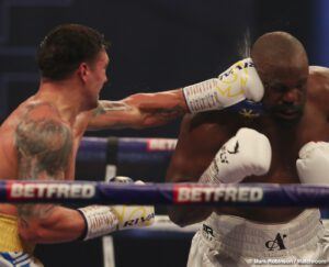 Alexander Usyk - Oleksandr Usyk (18-0, 13 KOs) used his technical skills to wear down and defeat Dereck Chisora (32-10, 23 KOs) by a competitive 12 round unanimous decision Saturday night at the Wembley Arena in Wembley, UK.