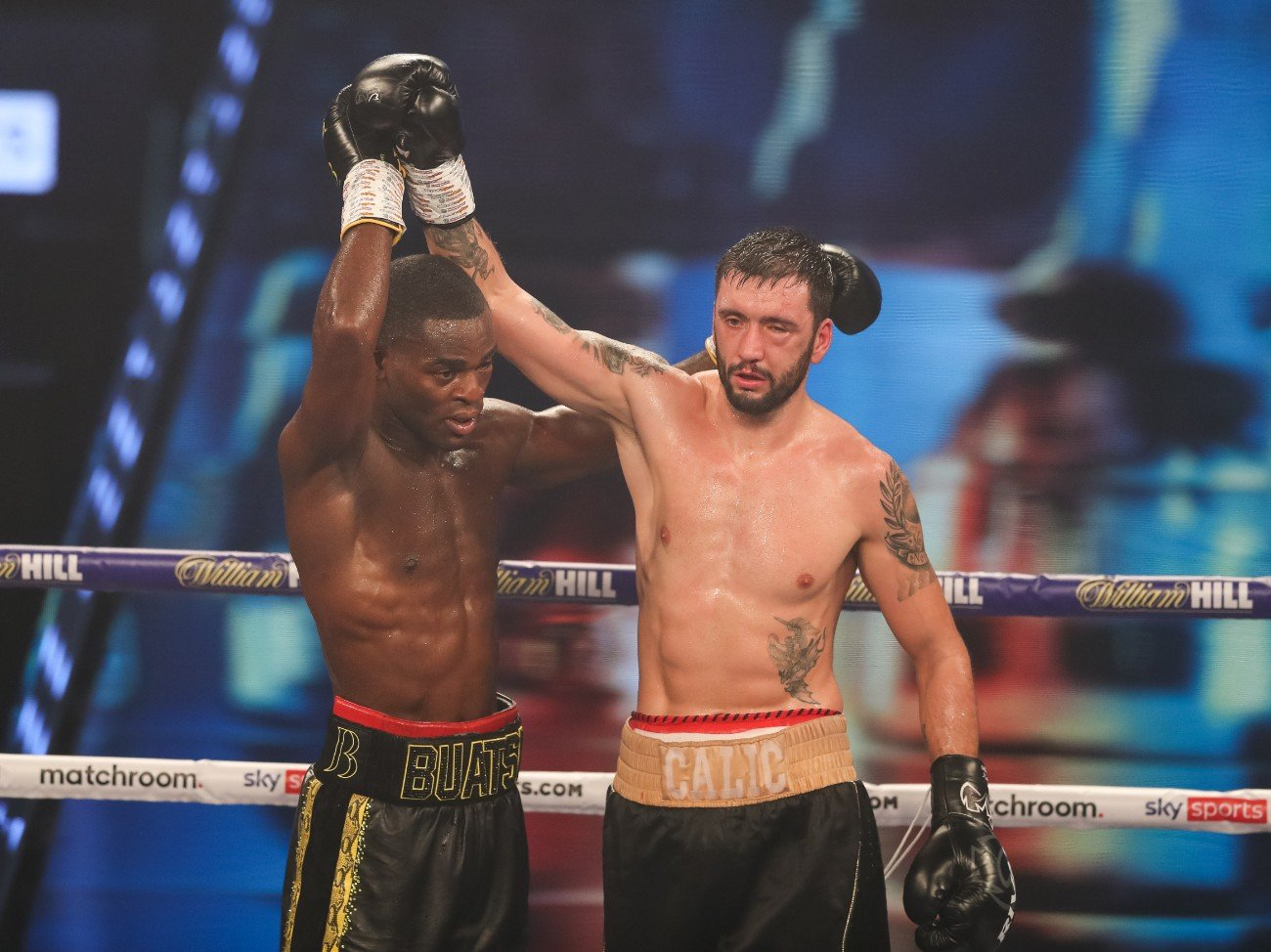 Alen Babic, Chantelle Cameron, Joshua Buatsi, Marko Calic, Niall Kennedy - Croydon's Joshua Buatsi came through the toughest test of his career yet as he stopped tough Croatian Marko Calic in seven brutal rounds to retain his WBA International Light-Heavyweight title in the main event at the Marshall Arena in Milton Keynes, live on Sky Sports in the UK and DAZN in the US.