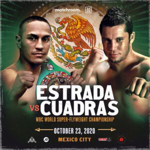 Carlos Cuadras, Juan Francisco Estrada - Carlos Cuadras has been waiting patiently to get his revenge on Juan Francisco Estrada and now his moment has arrived as they clash for Estrada's WBC World Super-Flyweight title on Friday night at TV Azteca Studios in Mexico City, Mexico, live on DAZN.