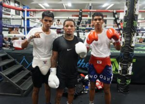 "Angel Barrientes - Twin boxing phenoms Angel ""AK-47"" Barrientes (3-0, 3 KOs) and Chavez ""The Beast"" Barrietes (3-0, 3 KOs) detailed their recent sparring sessions with three-time, two-division world champion Gervonta ""Tank"" Davis (23-0, 22 KOs) as they prepare for their televised debuts this Saturday, October 3 in FS1 PBC Fight Night action and on FOX Deportes from Microsoft Theater in Los Angeles."