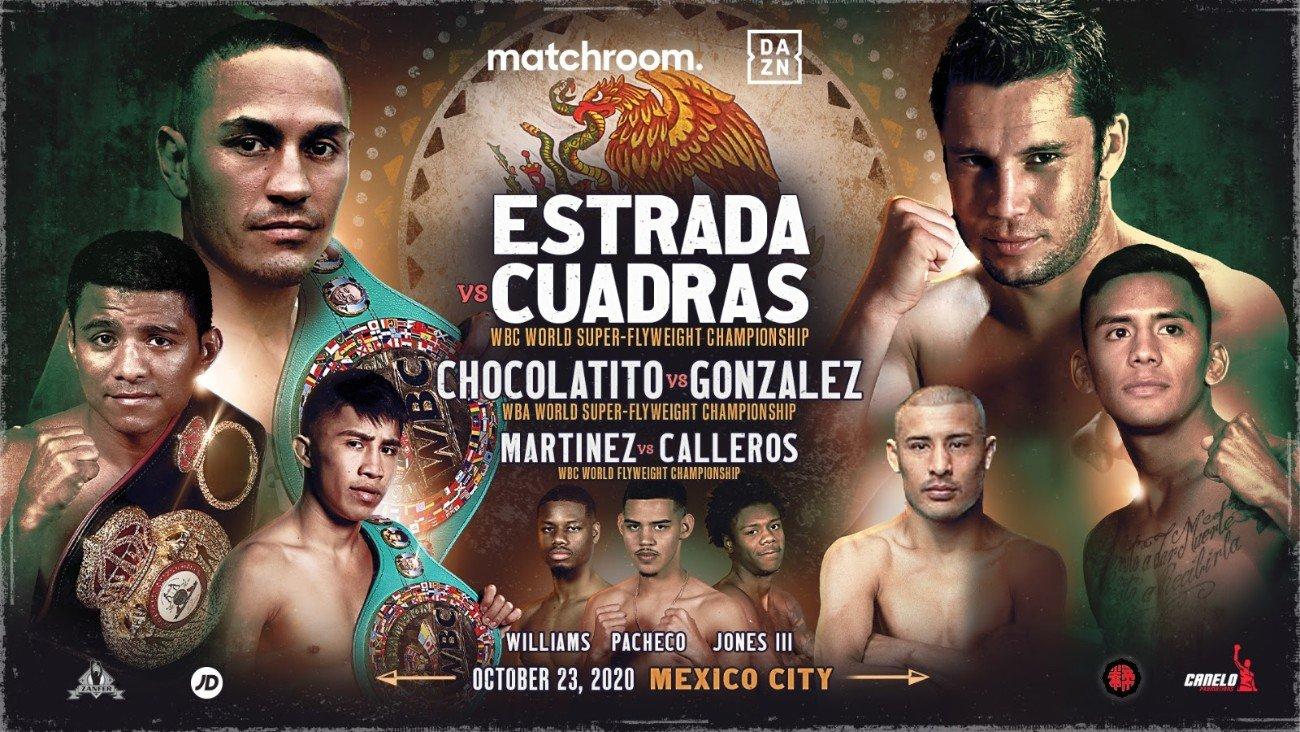 Carlos Cuadras, Juan Francisco Estrada, Julio Cesar Martinez, Moises Calleros, Roman Gonzalez - Boxing News
