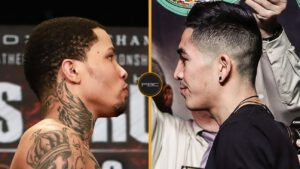 """Juan Heraldez - Three-time world champion Gervonta """"Tank"""" Davis and four-division world champion Leo """"El Terremoto"""" Santa Cruz will square off in a Halloween thriller for the WBA Super Featherweight and WBA Lightweight Championships live on SHOWTIME PPV Saturday, October 31 (9 p.m. ET/6 p.m. PT) in an event presented by Premier Boxing Champions from the Alamodome in San Antonio, Texas."""