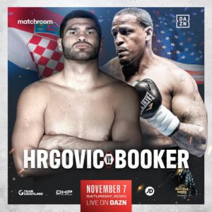 Filip Hrgovic, Rydell Booker - Filip Hrgović (11-0, 9 KOs) will face Rydell Booker (26-3, 13 KOs) on November 7th behind closed doors at the Hard Rock Live at the Seminole Hard Rock Hotel & Casino Hollywood, Florida, live on DAZN in the US and RTL in Croatia.