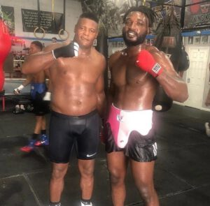 """Jeremiah Milton - Highly touted heavyweight prospect Jeremiah Milton (1-0, 1 KO), who relocated from his hometown of Tulsa, Oklahoma to Las Vegas, Nevada, has now gone to Florida to be part of world title contender Luis """"King Kong"""" Ortiz's training camp. Luis Ortiz will be headlining on PBC on Fox against Alexander Flores on November 7th."""