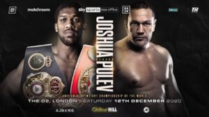 "Eddie Hearn - Eddie Hearn says he is expecting a ""statement"" from Anthony Joshua on December 12. And the destruction of a very durable fighter. Hearn, speaking with Sky Sports, said AJ is looking great in training and that he fully expects the reigning WBA/IBF/WBO heavyweight champion to ""punish"" Kubrat Pulev before stopping the Bulgarian late."
