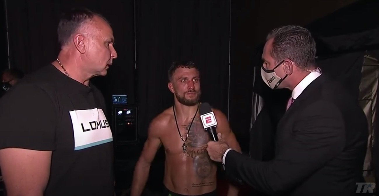 """Vasiliy Lomachenko - Before he did what he said he was going to do and defeat Vasyl Lomachenko, Teofimo Lopez also stated how he would """"send Lomachenko back down to the 130 or 126-pound weight class."""" Lomachenko might not want to hear this right now, disagreeing with last night's unanimous decision that went Lopez' way, yet in time he may see that Lopez is indeed correct. Down at 126, 130, Lomachenko had his way with his opponents (aside from Orlando Salido, who came in overweight in what was just Loma's second pro fight), whereas up at 135, Lomachenko showed signs of vulnerability."""