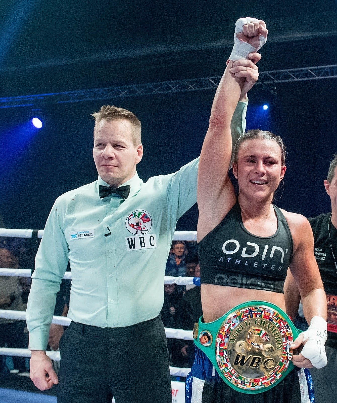 Katharina Thanderz, Terri Harper - Liverpool Light-Heavyweight talent Thomas Whittaker-Hart has signed a multi-fight promotional deal with Eddie Hearn's Matchroom Boxing and will face Bradford's Jermaine Springer over eight rounds on Saturday November 14, live on Sky Sports in the UK and DAZN in the US.