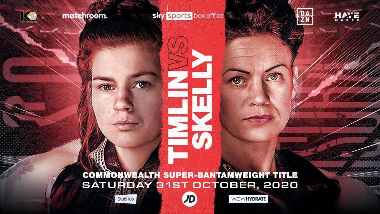 Amy Timlin, Carly Skelly - Carly Skelly and Amy Timlin primed for brutal battle on Usyk-Chisora undercard