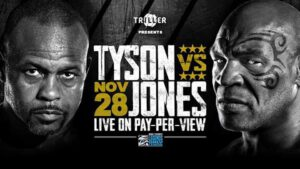 Watch Mike Tyson vs Roy Jones LIVE on FITE TV This Saturday