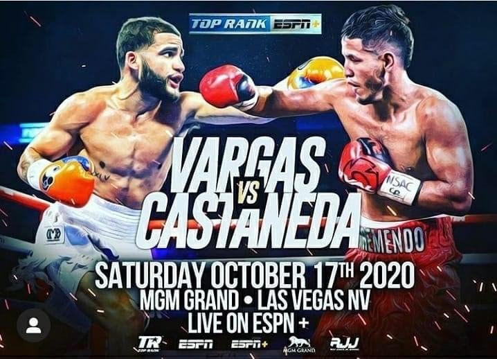 "Josue Vargas, Kendo Castaneda - If Kendo ""Tremendo"" Castaneda lives up to his nickname this Saturday night (Oct. 17) in Las Vegas, the San Antonio fighter will derail the fast track Josue ""The Prodigy"" Vargas has been placed."
