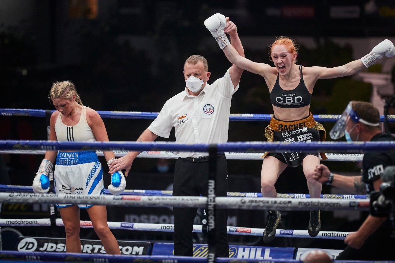 Jorgelina Guanini, Rachel Ball, Shannon Courtenay - British Boxing