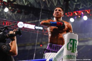 """Mario Barrios, Ryan Karl - MARIO BARRIOS: """"It took a minute to get used to his pressure, he was very awkward. I eventually found my rhythm as the rounds started progressing."""