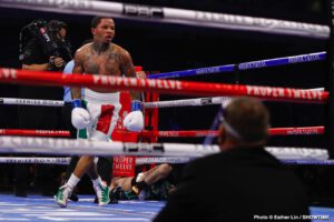 Gervonta Davis - Teofimo Lopez scored a superb and somewhat unexpected win over Vasyl Lomachenko last month, while on Saturday night, Gervonta Davis scored a superb KO win over Leo Santa Cruz that was also somewhat unexpected (the KO not the victory). Right now, begging Devin Haney's pardon (he gets his chance to shine this Saturday night), these two fantastic fighters are engaged in a battle for lower-weight supremacy and for true superstardom. And who on earth wins!